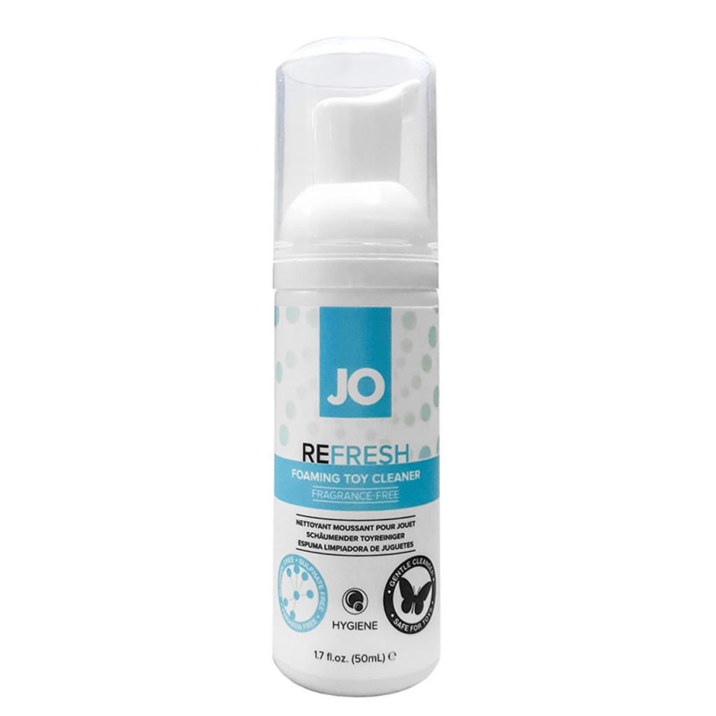JO Refresh Foaming Toy Cleaner 1.7 oz.