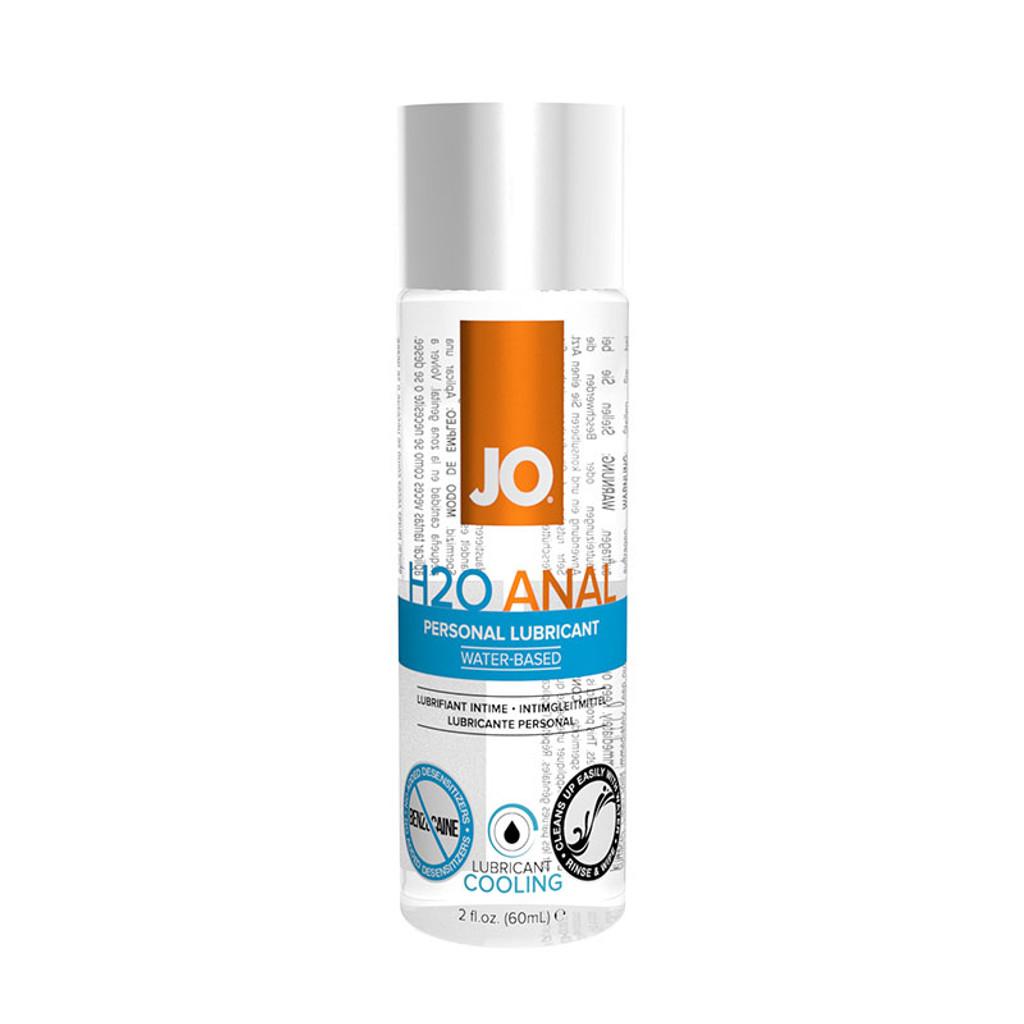 JO Anal H2O Cool Lubricant - 2 oz.