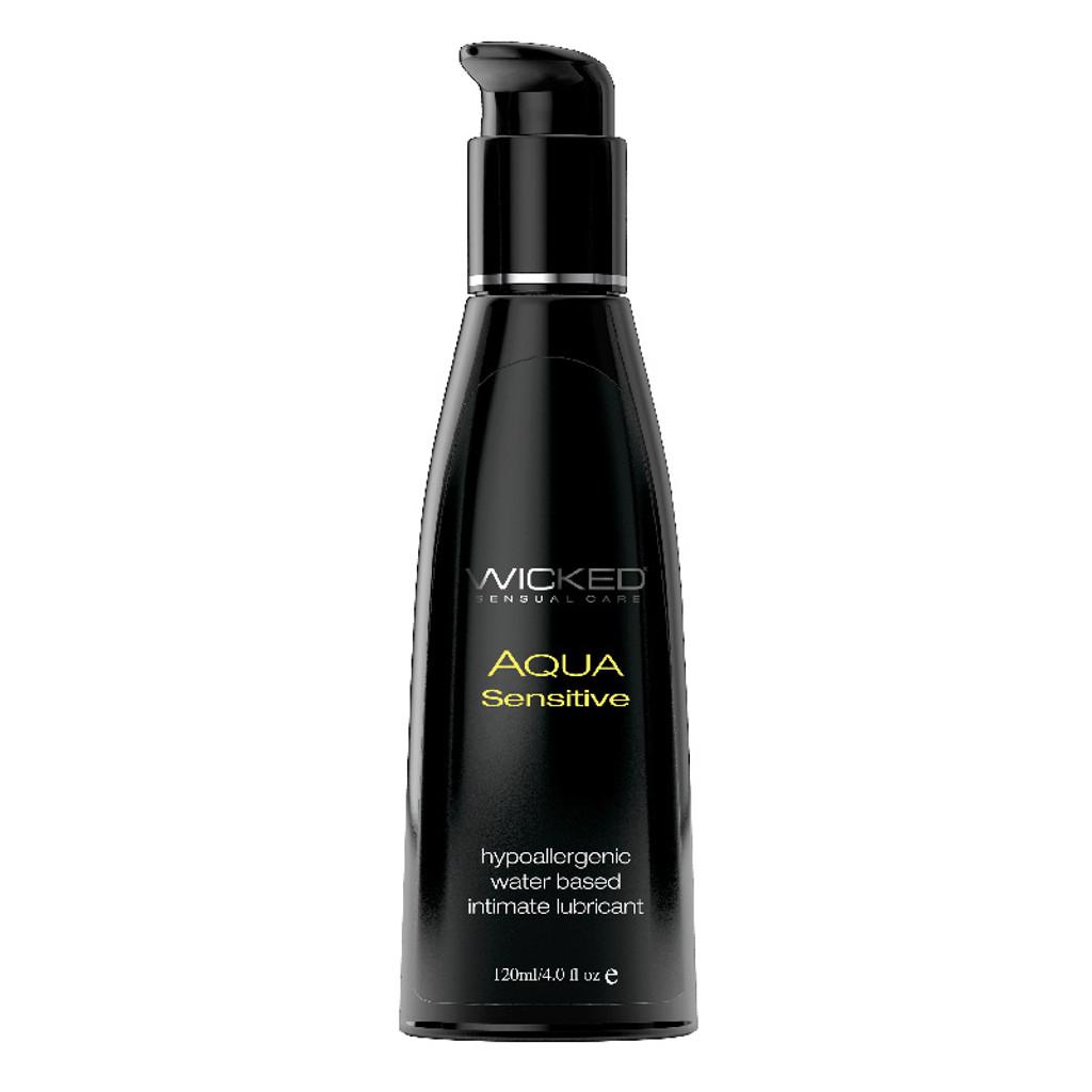 Wicked Aqua Sensitive Lubricant - 4 oz.