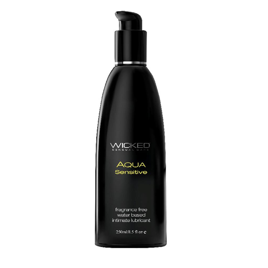 Wicked Aqua Sensitive Lubricant - 8.5 oz.