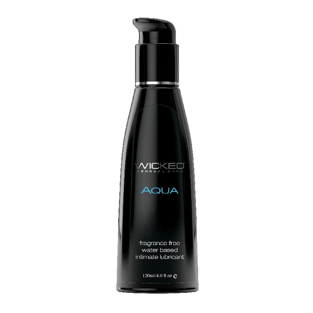 Wicked Aqua Lubricant - 4 oz.