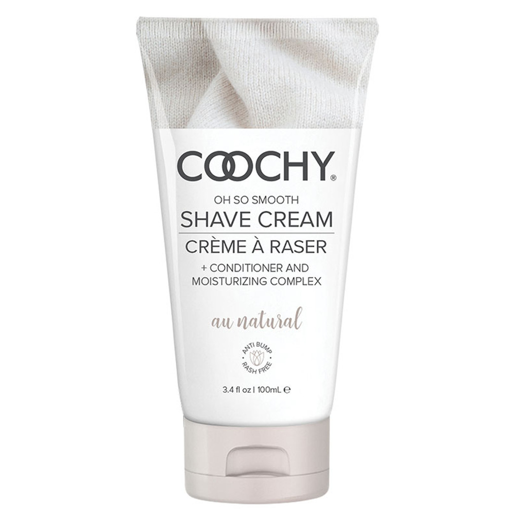 Au Natural 3.4 oz. Classic Erotica Coochy Oh So Smooth Shave Cream - Front