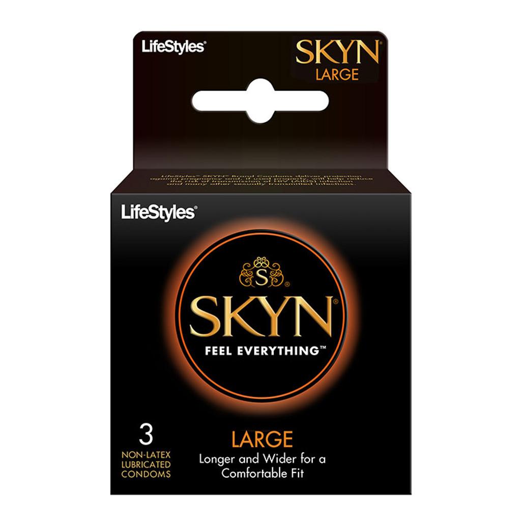 LifeStyles SKYN Large Condoms - 3pk