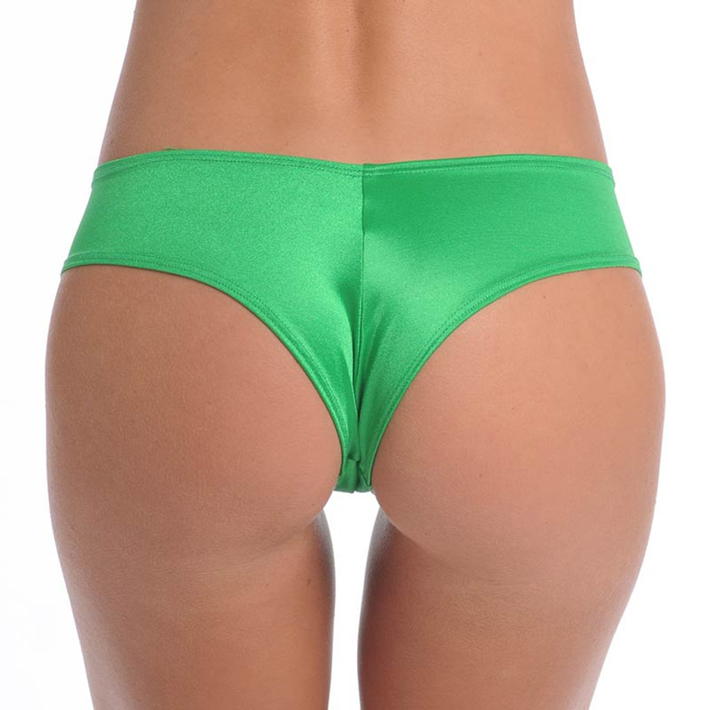 Neon Green Booty Short - Back