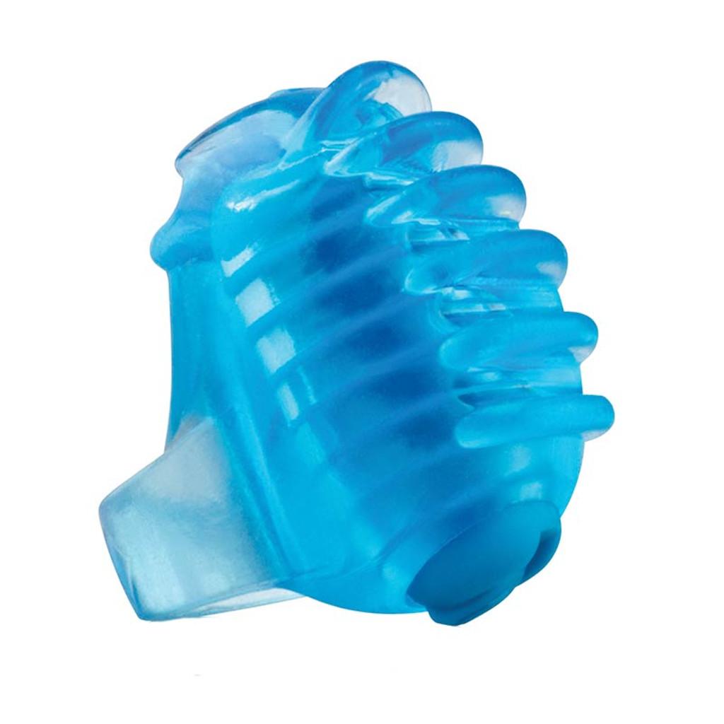 Blue FingO Tips - TopBlue Screaming O FingO Tips Micro Fingertip Vibe - Front