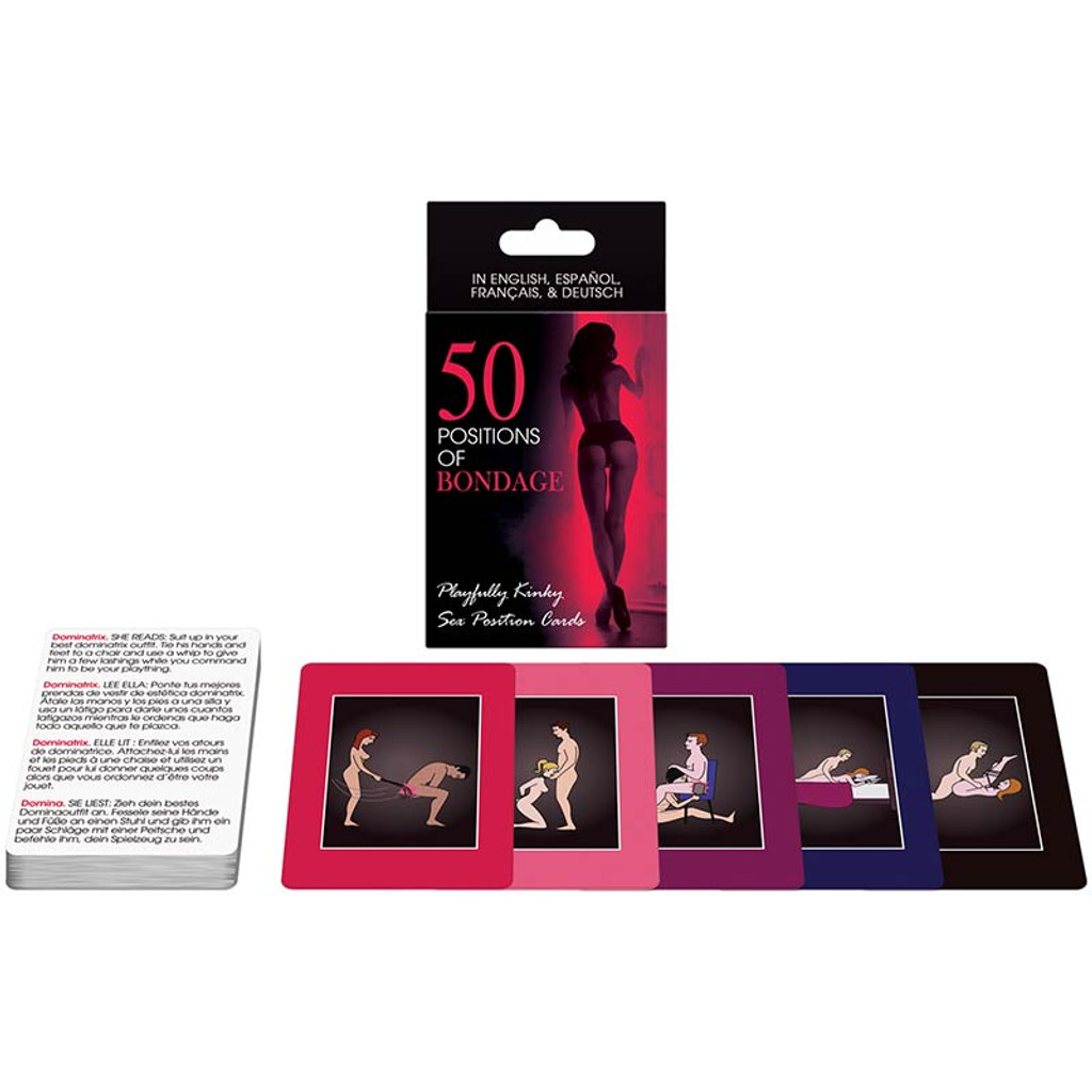 50 Positions of Bondage Cards - Spread