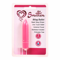 Pink Smitten Bling One Touch Bullet - Packaging