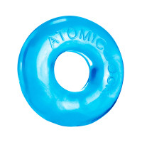 Ice Blue Donut-2 Super-Fat Cock Ring