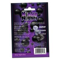 Creative Conceptions Kinky Nights Bondage Dare Dice - Back