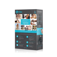 Black b-Vibe Remote Control Rimming Plug Petite - Packaging Back