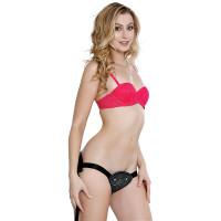 Evolved Novelties Ultimate Adjustable Strap-on Harness - Model Side