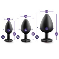 Luxe Bling Plugs Training Kit - Measurements