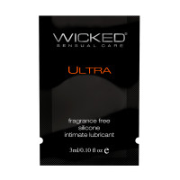 Wicked Ultra Lubricant Sample - Front