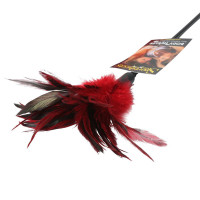 Red Sportsheets Starburst Feather Body Tickler - Tip