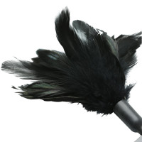 Black Sportsheets Starburst Feather Body Tickler - Tip
