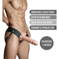"""Vanilla Dr. Skin 7"""" Hollow Strap On - Features"""