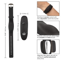 CalExotics Lock-N-Play Wristband Remote Panty Teaser - Features