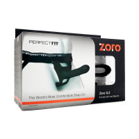 "Perfect Fit Brand Zoro 6.5"" Hollow Strap-On -  Packaging"