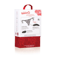 Screaming O Premium Ergonomic Vibrating Panty with Remote- Packaging Back