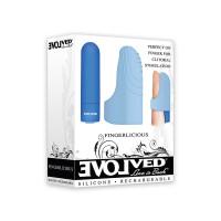 Evolved Novelties Fingerlicious Finger Clitoral Stimulator - Packaging