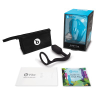 b-Vibe Snug & Tug  Penis Ring and Weighted Butt Plug - Contents