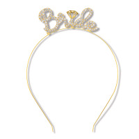 Beistle Rhinestone Bride Headband