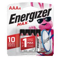 Energizer MAX Alkaline AAA Batteries - Front