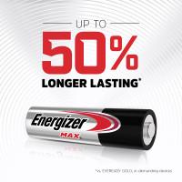 Energizer MAX Alkaline AAA Batteries - Longer Lasting