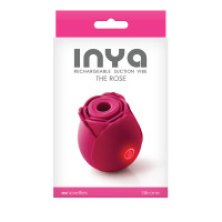 NS Novelties INYA The Rose 7-function Rechargeable Rose-shaped Silicone Suction Vibrator - Packaging