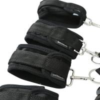 Sportsheets Original Under the Bed Restraint System - Cuffs