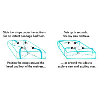 Sportsheets Original Under the Bed Restraint System - Instructions