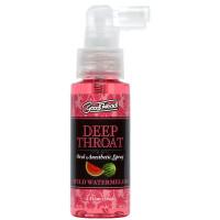 Wild Watermelon Doc Johnson GoodHead Deep Throat  Oral Anesthetic Spray - Bottle