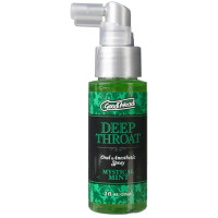 Mystical Mint Doc Johnson GoodHead Deep Throat  Oral Anesthetic Spray - Bottle