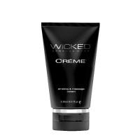 Wicked Creme Stroking & Massage Cream - Front