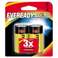 Eveready Gold Batteries C 2-pack