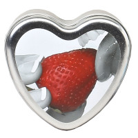 Edible Massage Candle - Strawberry Front