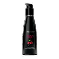 Wicked Aqua Flavored Lubricant - Cherry 4 oz.