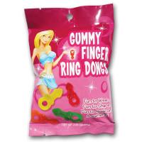 Gummy Finger Ring Dongs