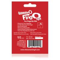 Blue Screaming O FingO Tips Micro Fingertip Vibe - Package Back