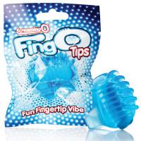 Blue Screaming O FingO Tips Micro Fingertip Vibe - Package