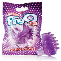 Purple Screaming O FingO Tips Micro Fingertip Vibe - Package