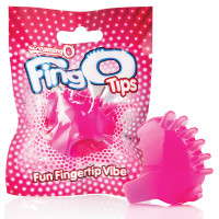 Pink Screaming O FingO Tips Micro Fingertip Vibe - Package