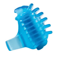 Blue Screaming O FingO Tips Micro Fingertip Vibe - Side