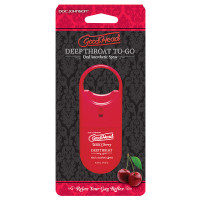 Sweet Cherry Doc Johnson GoodHead Deep Throat To-Go Oral Anesthetic Spray - Package