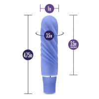 Periwinkle Blush Novelties Nimbus Mini Vibrator - Dimensions