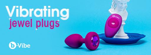 Cirilla's b-Vibe Vibrating Jewel Plugs
