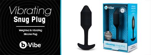 Cirilla's b-Vibe Vibrating Snug Plug Medium
