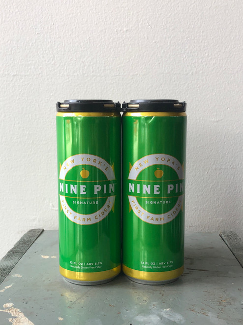 Nine Pin, Signature Hard Cider Can