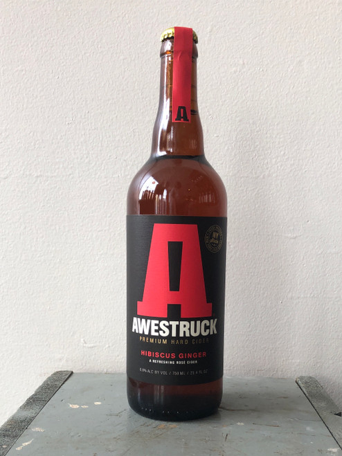 Awestruck Cider, Hibiscus Ginger
