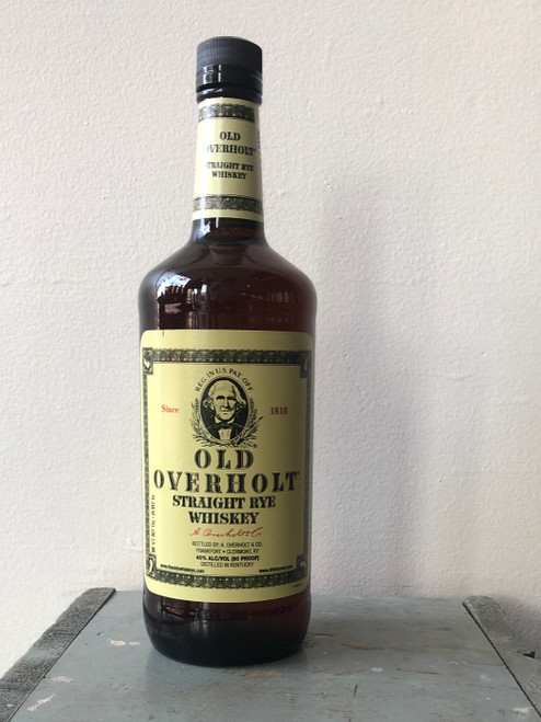 Old Overholt, Straight Rye Whiskey 1 L